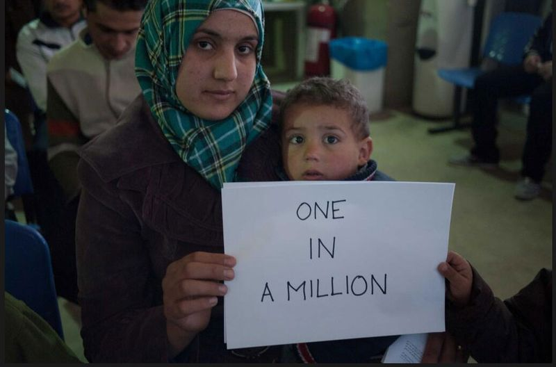 Meet Syria's one millionth refugee - The World Daily