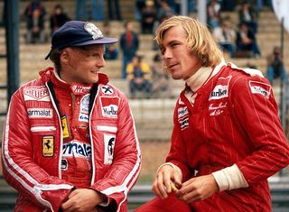 Lauda and hunt