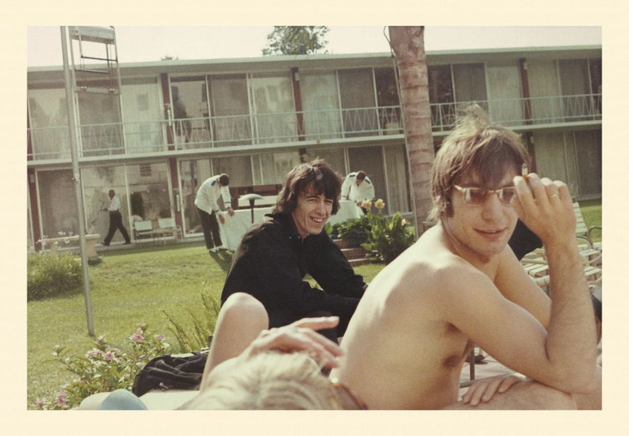 Charlie Watts and Bill Wyman Untitled Clearwater