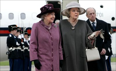 Queen and beatrix