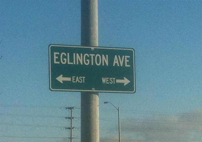 How do you spell Eglinton 1
