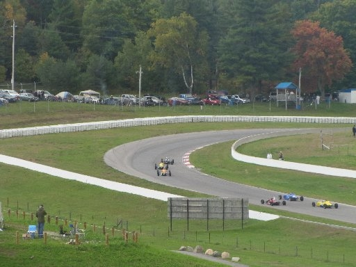 Racing at Mosport