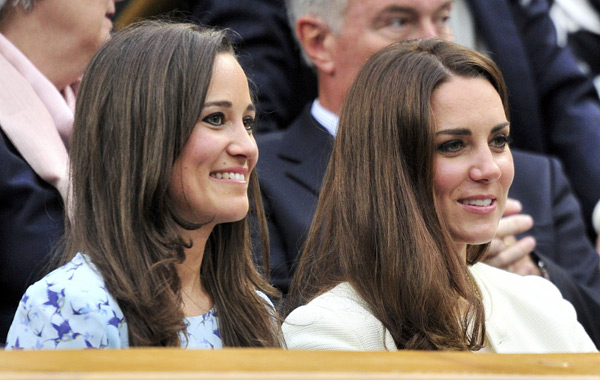 Kate Middleton and Pippa Middleton1