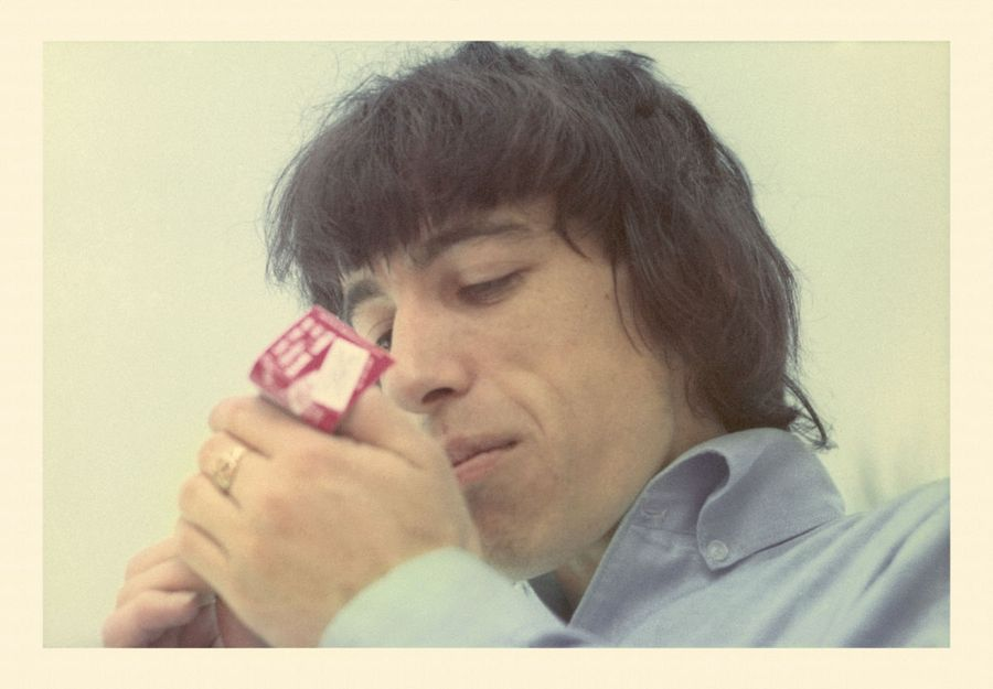 Bill Wyman Lighting Cigarette 65 3