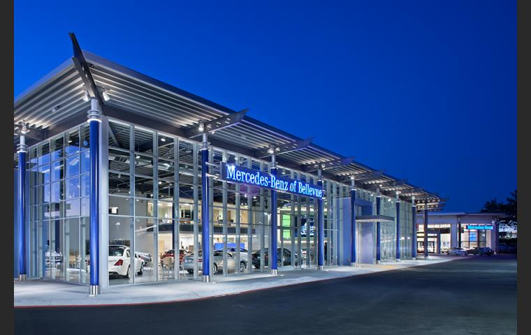 Mercedes-benz Autohaus SBID award Winner Bellevue Washington