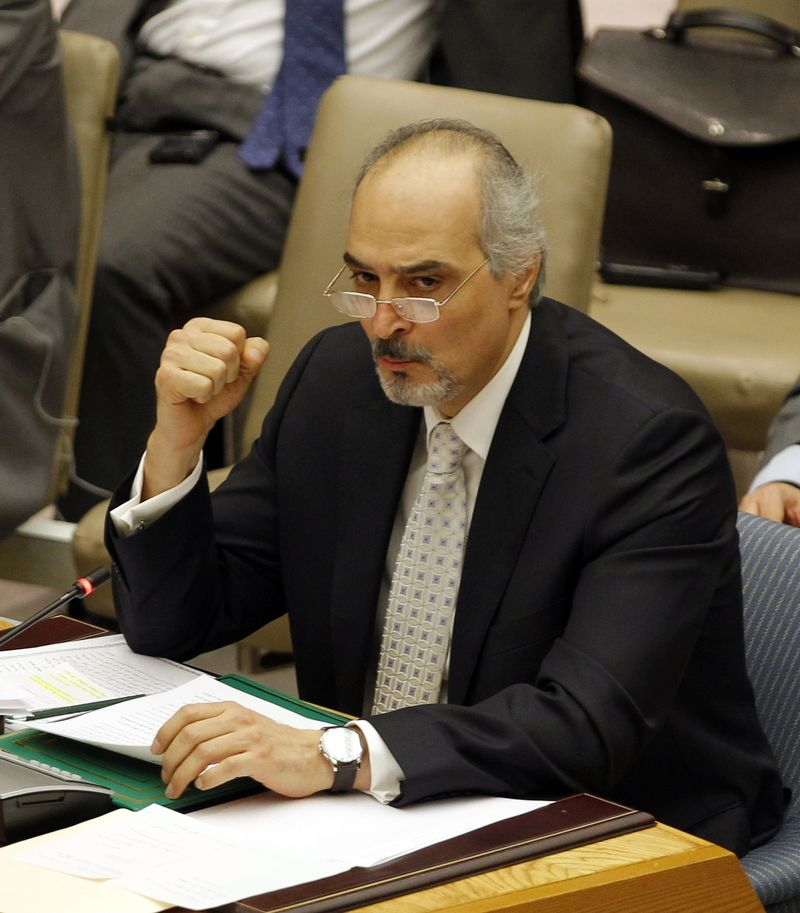 Bashar ja'afari at UN
