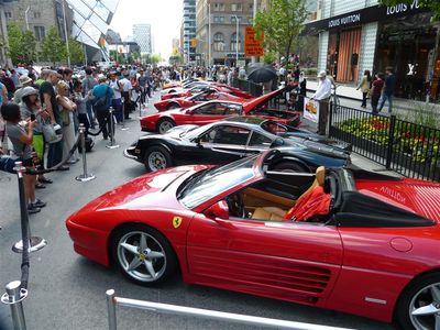 Yorkville Exotic Car Show overview