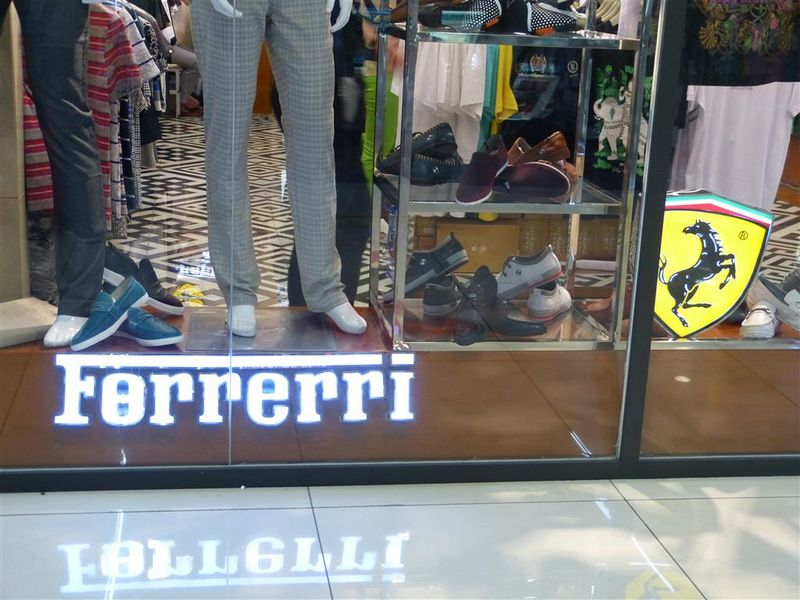Ferrerri at the Silk Street Mall