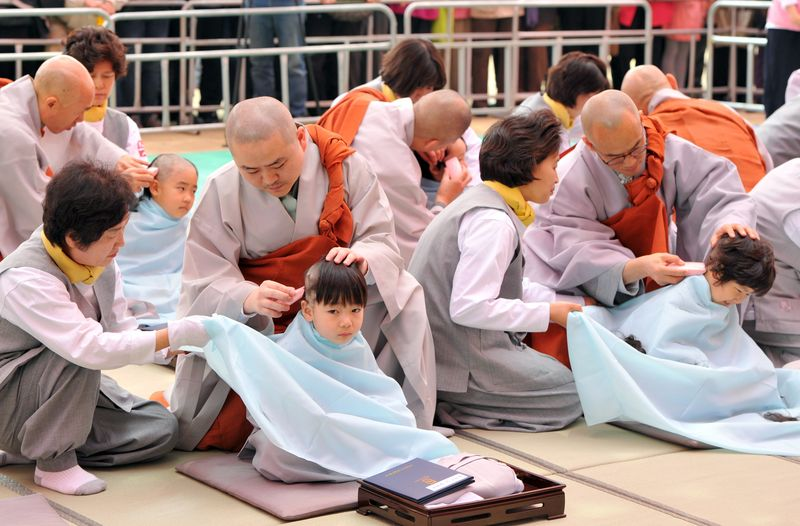 Young South Korean Buddhists