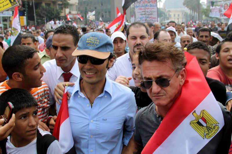 Sean penn egypt hollywood blog