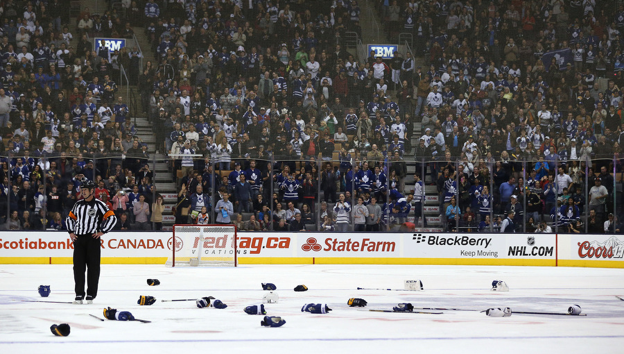 Image result for hockey aftermath