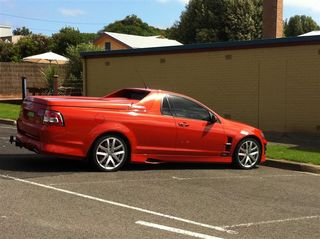Holden Ute (Medium)