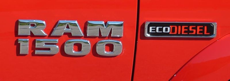 EcoDiesel Badge