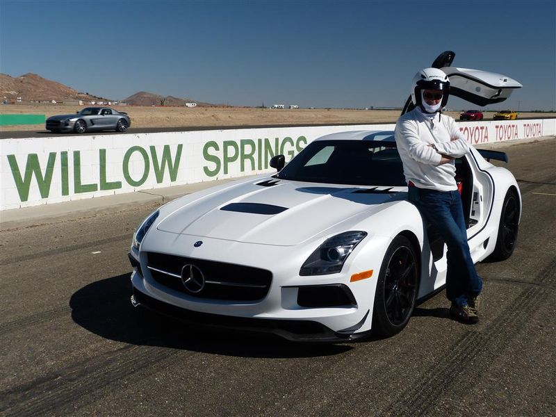 SLS AMG Black Series at Willow Springs 2 (Medium)