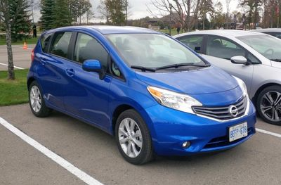 Test Fest Nissan Versa Note (Medium)