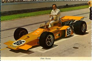 Revson at Indy