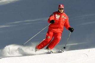 Schumacher on skis
